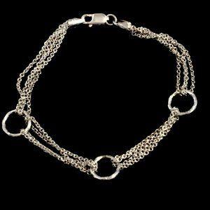 Jewelry - VINTAGE STERLING  MULTI-STRAND BRACELET